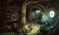 An alchemy-slash-book shop belonging to one of my dragons
